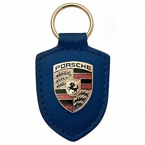 Porsche Leather Keyring