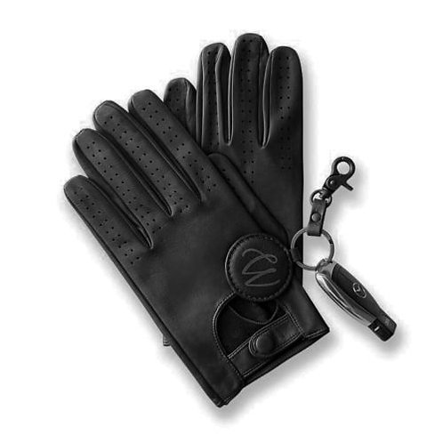 Mens Luxury Leather Driving Gloves