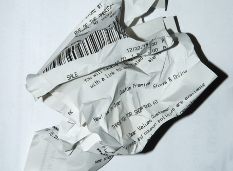 Thermal Paper Receipts - A Health Hazard?