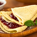 Plain with Jam and Syrup