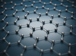 Graphene molecular grid, graphene atomic