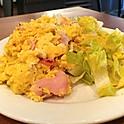 "Eggs ""Brouillés"" Ham & Swiss Cheese"