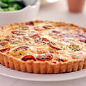 Quiche with Tomatoes and Goat Cheese