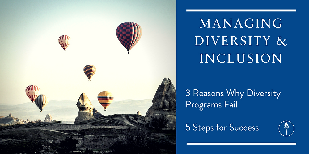 How to manage Diversity and Inclusion. This guide helps your Diversity Program.