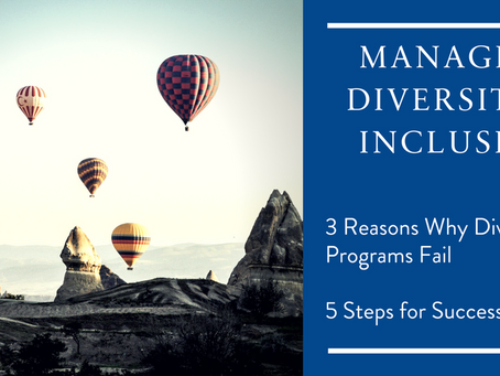 Most D&I tools fail, but yours can succeed. 3 common pitfalls to avoid & 5 Steps you build d