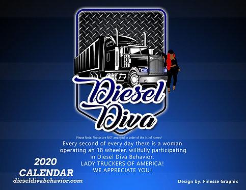 Diesel Diva 2020 Calendar