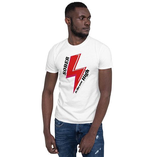 Sober Is the new High - Short-Sleeve Unisex T-Shirt