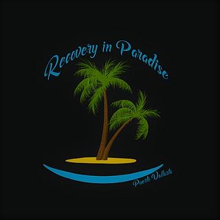 Recovery In Paradise BRANDING black bg.p