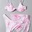Thumbnail: 3 Piece Marble Bikini Set