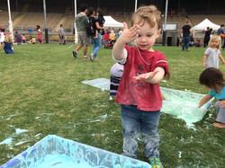 Messy Play Day 2016 fun