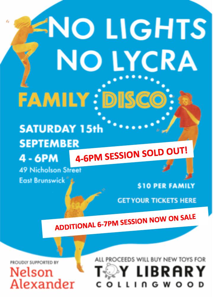 No Light No Lycra family disco