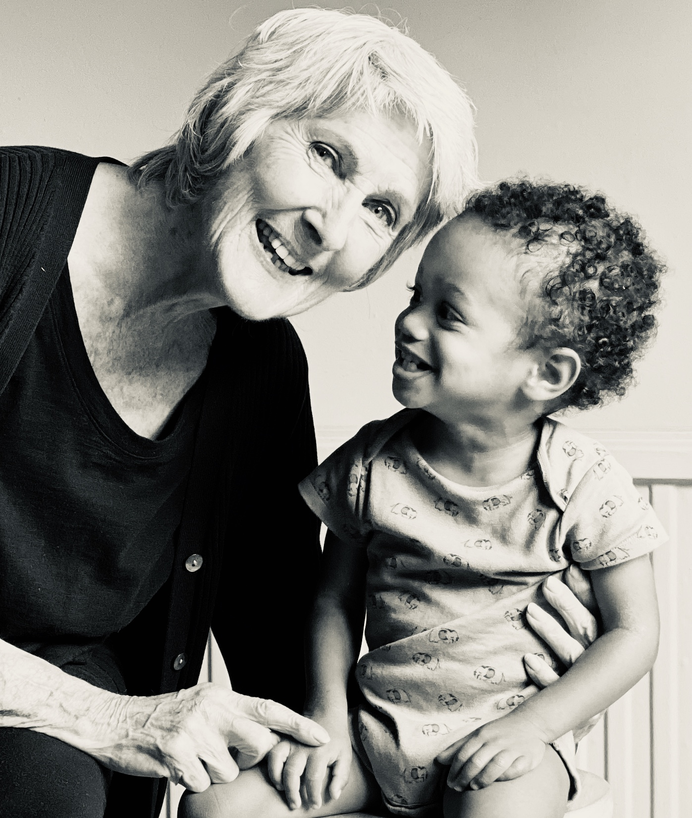 Kalani with Nanny