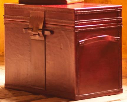 Baú Caixa com alça Brick Grafite - G (Atelier Watson)
