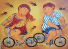 Meninos de Bike (Miriam Postal)