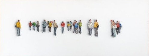 Pessoas 3D Fundo Branco (Marilene Zanchet)