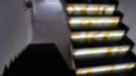 quartz onyx stairs