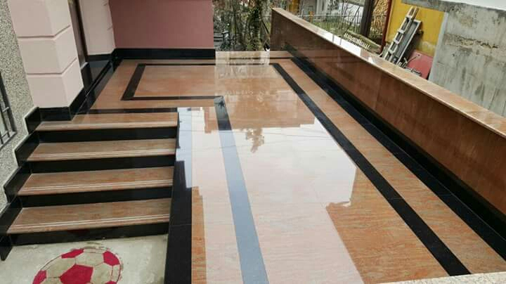 Kashmir Gold flooring design
