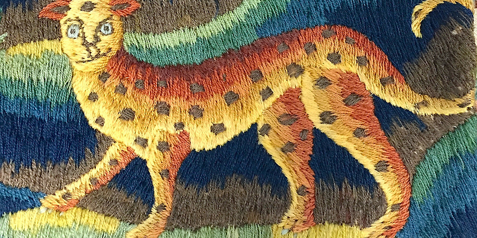 Embroidered Beasts in 16th and 17th century England