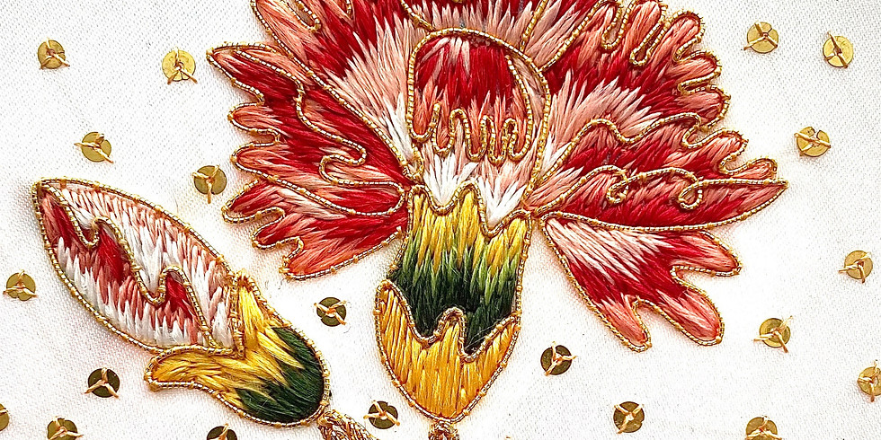 Elizabethan Gardens Workshop: Carnations and Cornflowers