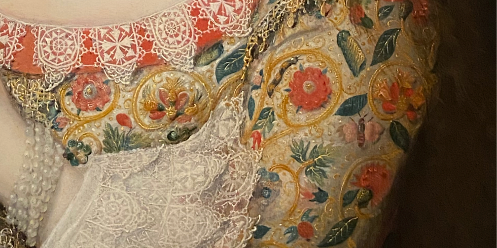 Event Full: The Necessity of the Needle: Historical Embroidery in England
