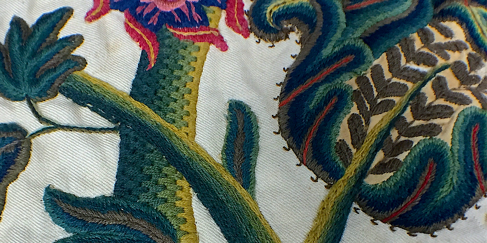 In the Jacobean Home: English Embroidered Textiles and Furnishings