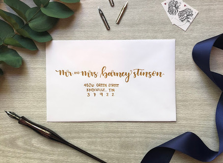 5 Reasons Why Every Bride Needs Calligraphy