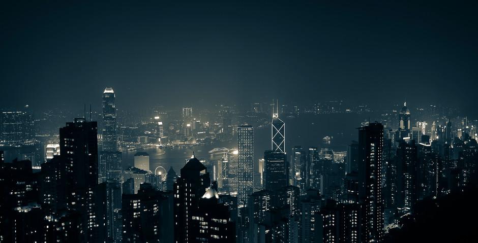 Hong Kong skyline from Victoria peak.jpg