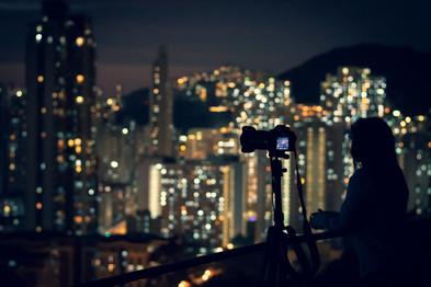 City lights from Garden Hill