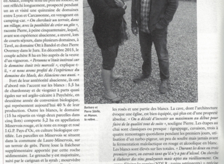 Très bel article dans la revue Le Rouge & Le Blanc !