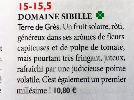 Notre Minervois Terre de Grès vu par la Revue des Vins de France !