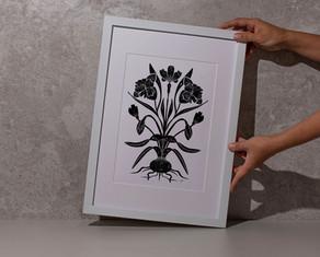 Birth Month Flower Illustration Series