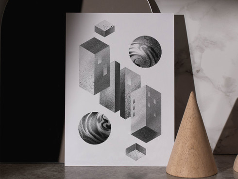 Isometric Escher Floating
