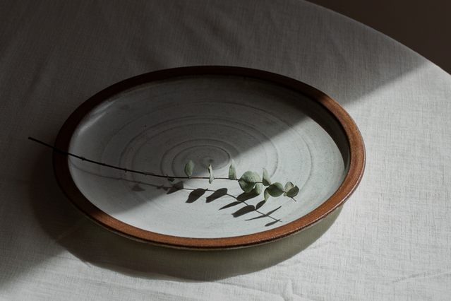 Dining table with Plate