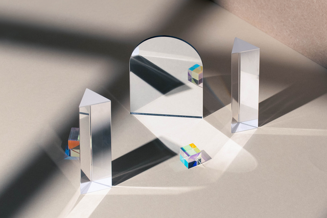 Archway Mirror and Prism