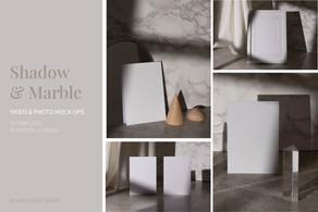 Shadow & Marble Video Mockup