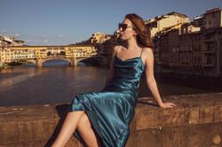 Firenze - veduta su Ponte Vecchio