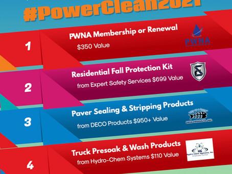 PowerClean 2021 Registration Giveaway!