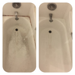 Tub Cleaning + Re-caulk
