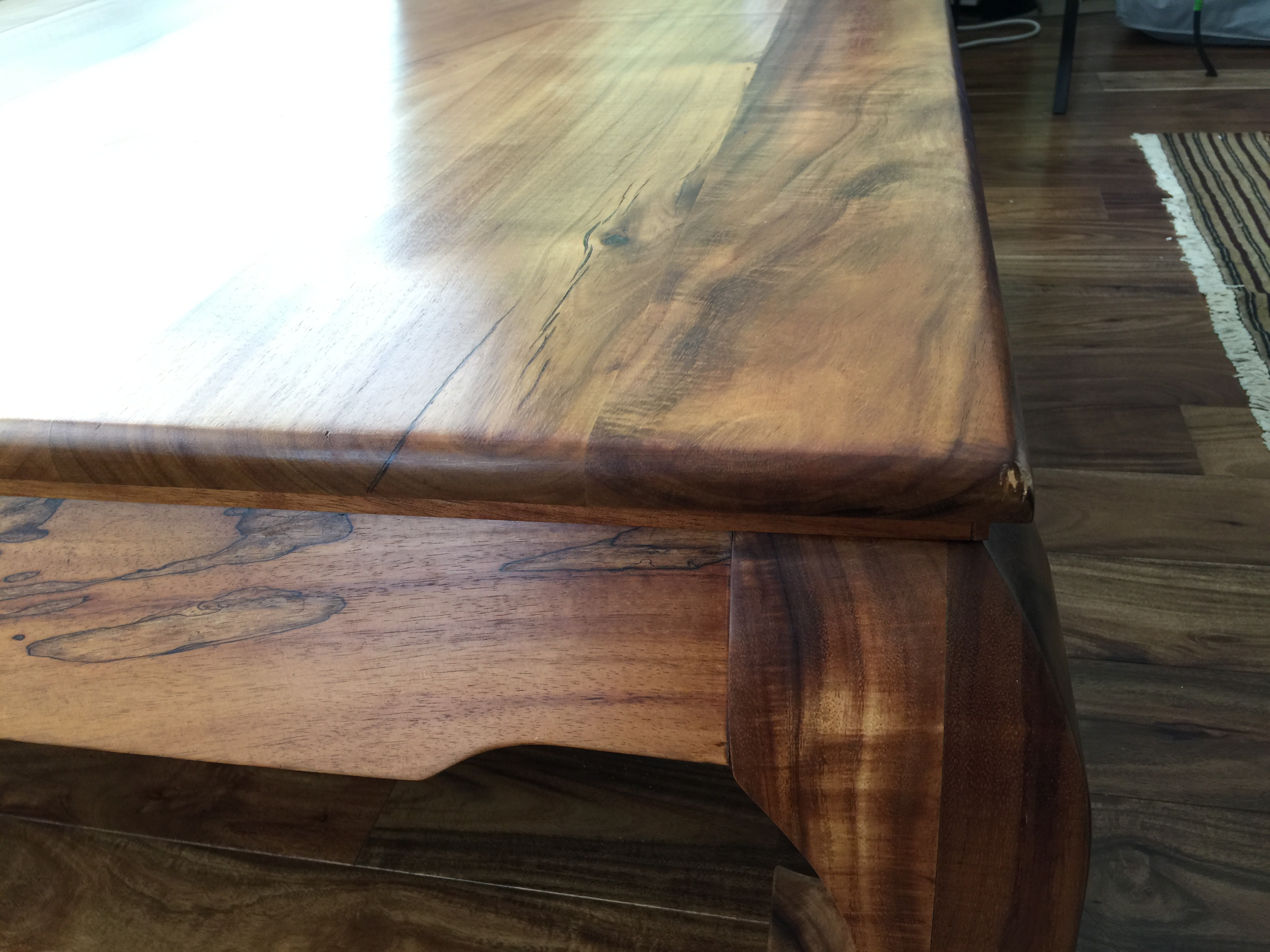 Koa Table Restoration