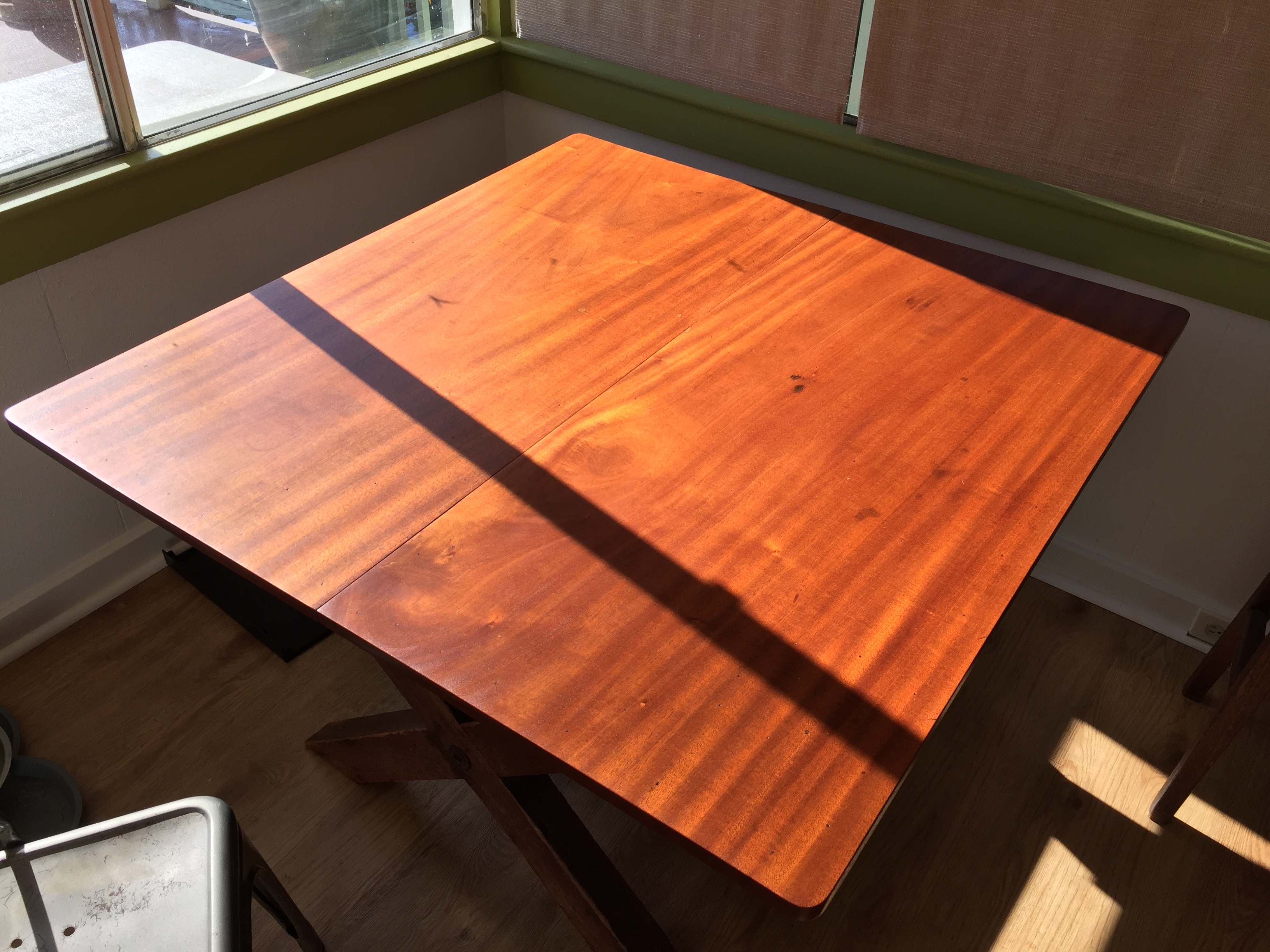 Mahogany Table Restoration