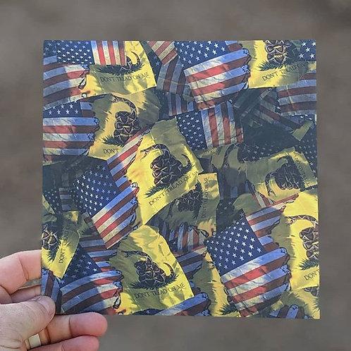 Gadsden/American Flags