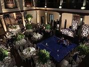 Iluminacion para centros de mesas de bodas