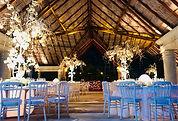 Iluminacion ambiental para bodas
