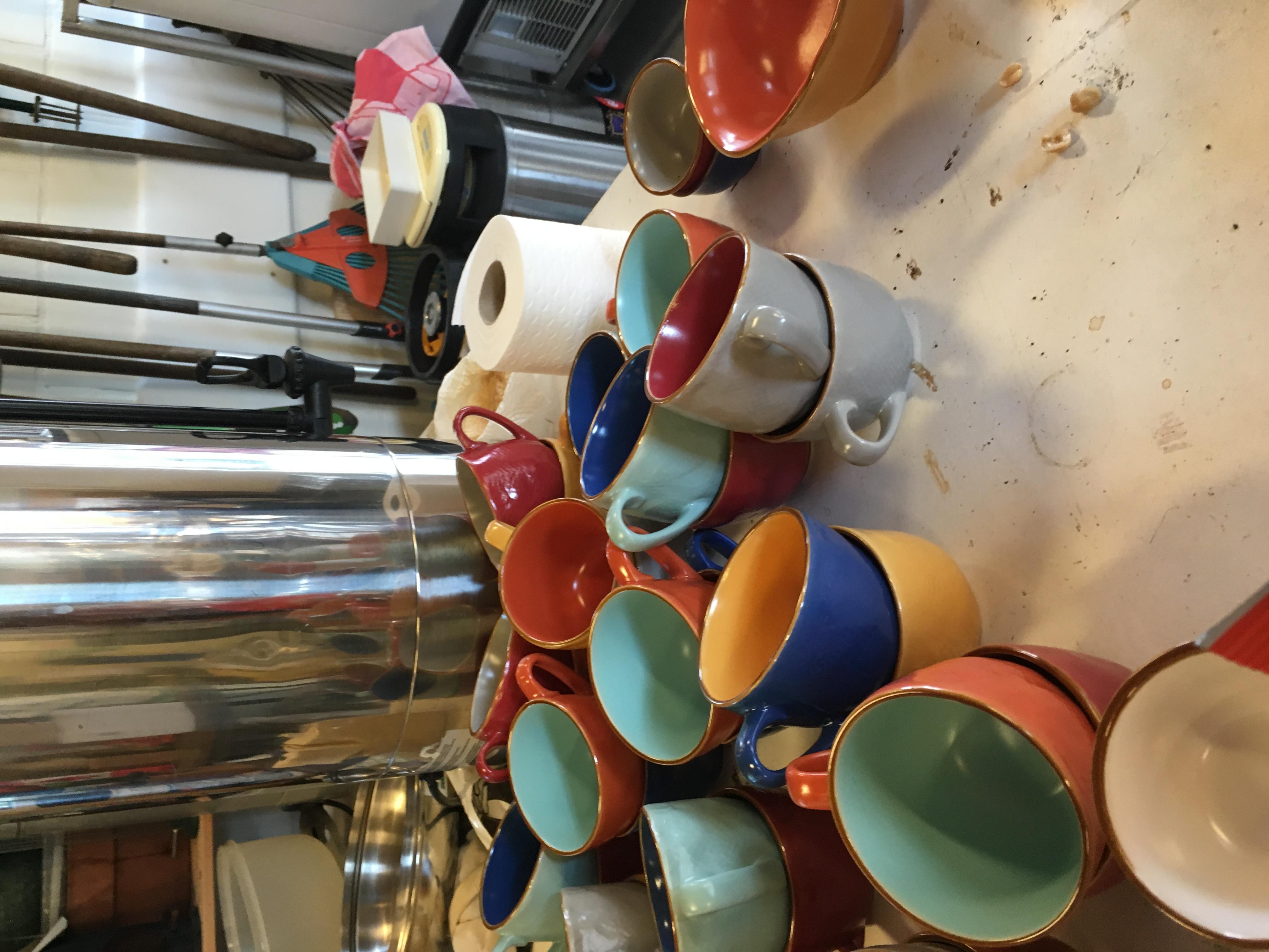 Italiaanse keramiek cappuccino tassen