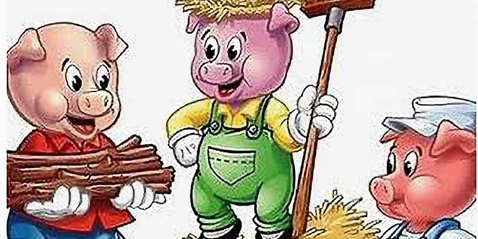 In-Person Fairy Tale Food-3 Little Pigs (Ages 2-5)