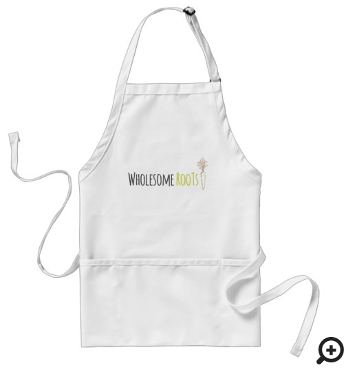 Wholesome Roots Apron