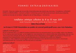 Invitation  Place d'Italie 2019