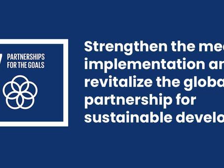 Partnership for developments- SDG 17