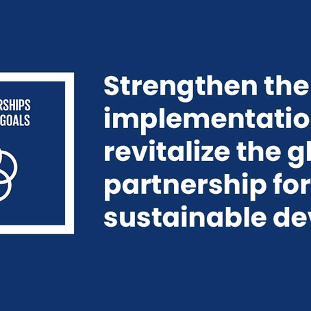 Partnership for developments- SDG 17