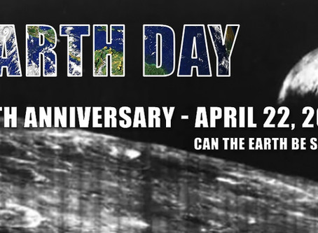 Earth Day: What do we celebrate?